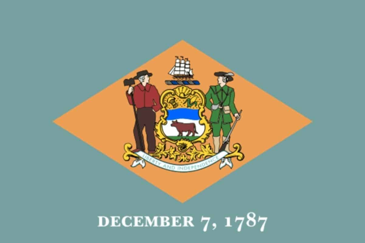 State flag of Delaware by Pixnio.com