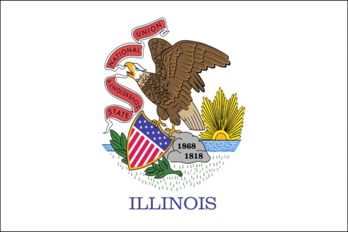 State flag of Illinois by Pixnio.com