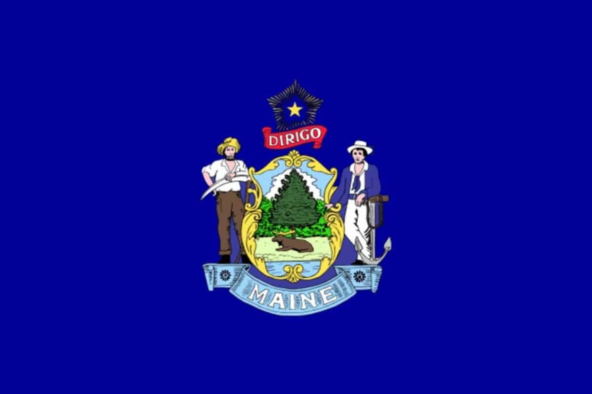 State flag of Maine by Pixnio.com