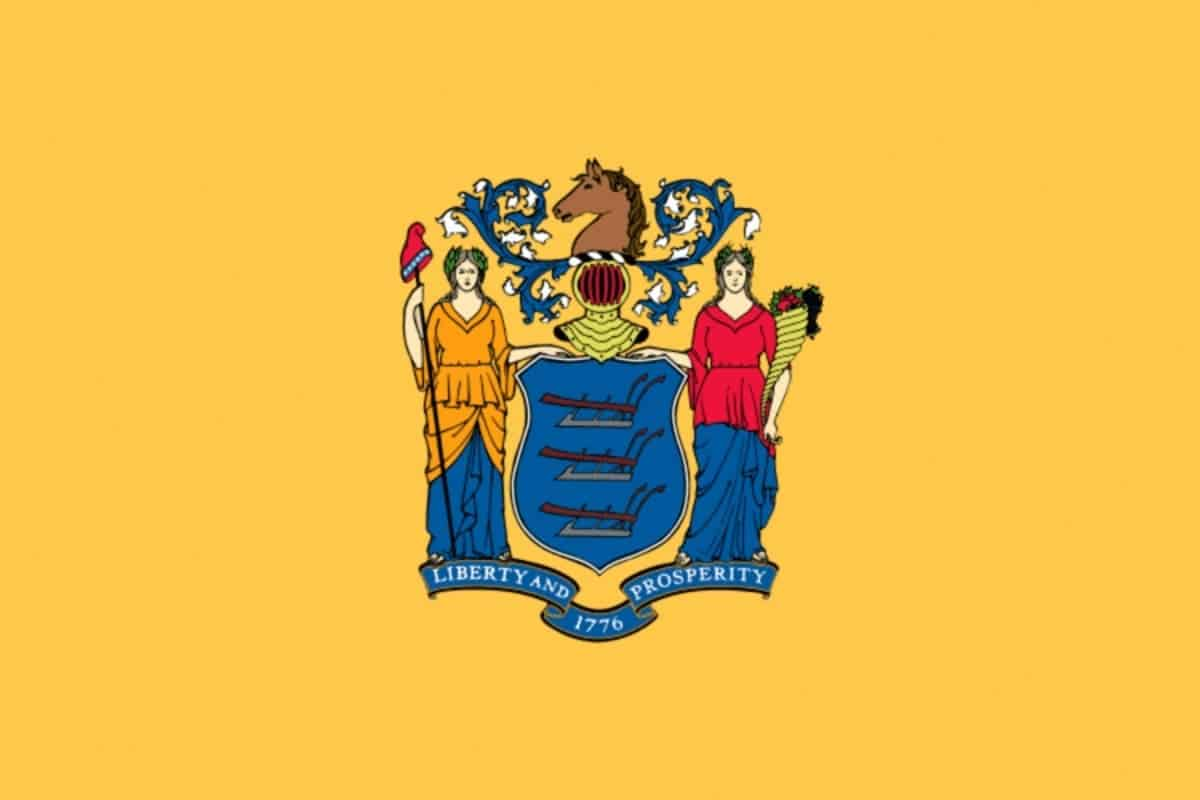 State flag of New Jersey by Pixnio.com