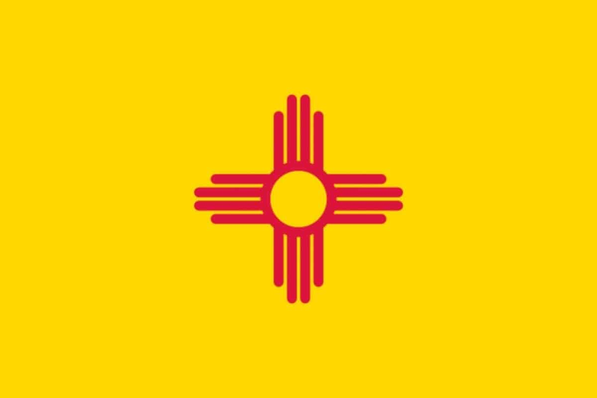 State flag of New Mexico by Pixnio.com