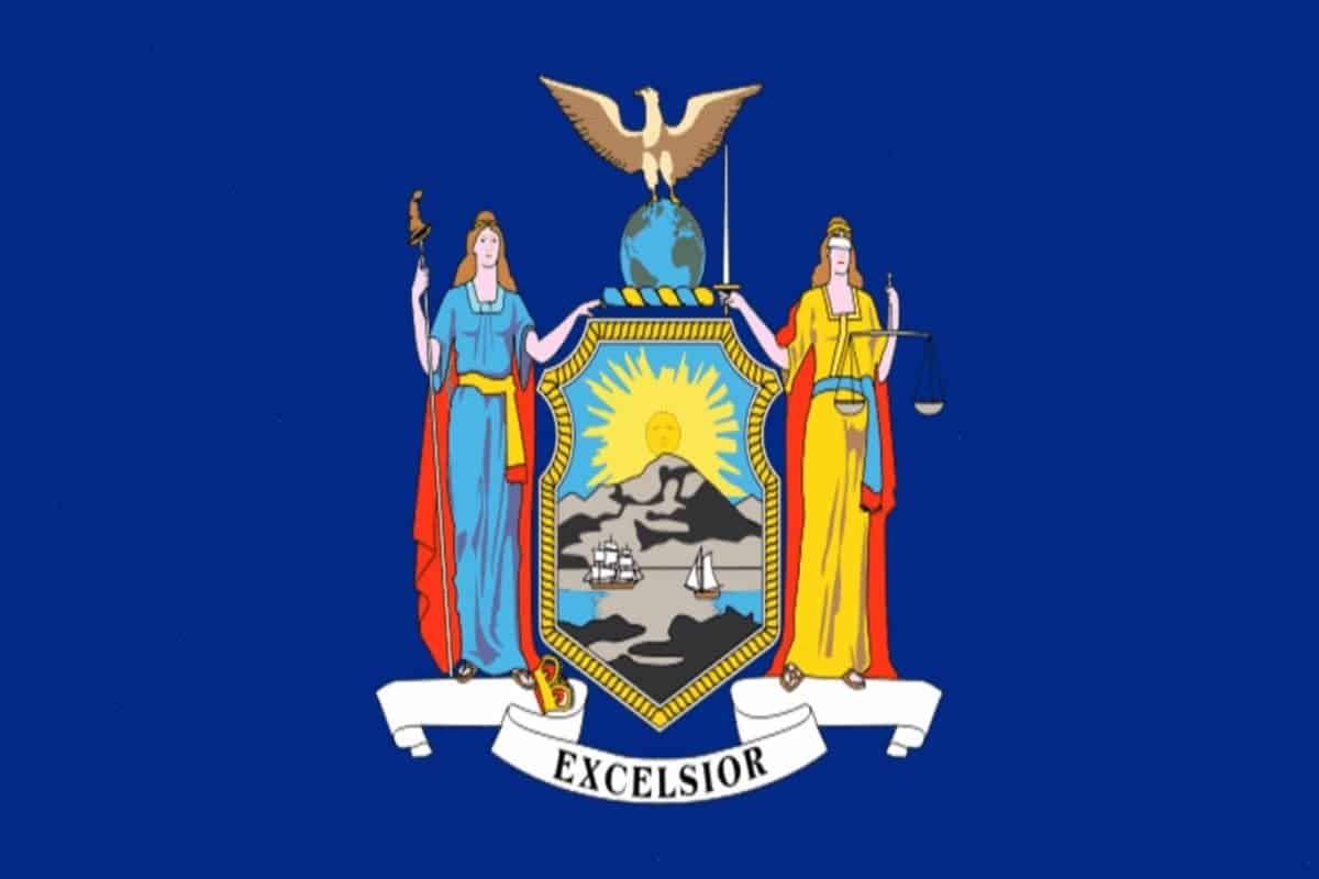 State flag of New York by Pixnio.com