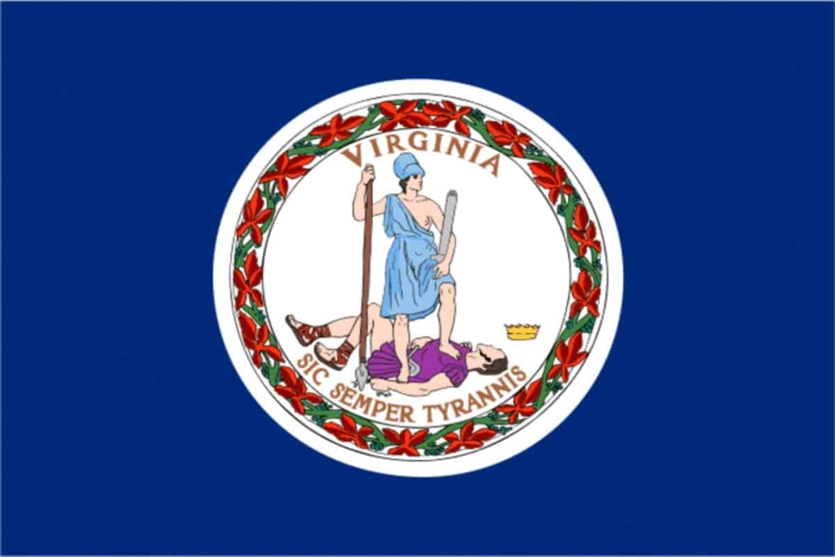 State flag of Virginia by Pixnio.com