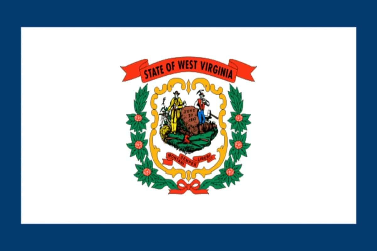 State flag of West Virginia by Pixnio.com